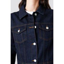 NA-KD Dżinsowy płaszcz z guzikami - Blue. Niebieskie płaszcze damskie NA-KD. W wyprzedaży za 129,58 zł.