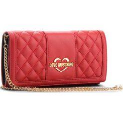 Torebka LOVE MOSCHINO - JC5503PP16LA0500 Rosso. Czerwone torebki klasyczne damskie Love Moschino, ze skóry ekologicznej. Za 569,00 zł.