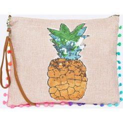 Haily's - Torebka. Szare torebki klasyczne damskie Haily's, w paski, z bawełny, średnie. W wyprzedaży za 29,90 zł.