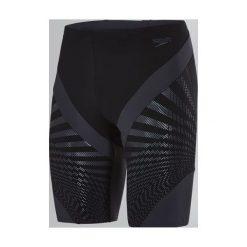 Kąpielówki męskie: Speedo Kąpielówki męskie Chevron Splice Jammer Black/Grey r. 34 (8113499023)