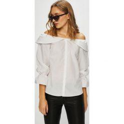 Trendyol - Koszula. Szare koszule damskie marki Trendyol, z bawełny, casualowe, z długim rękawem. W wyprzedaży za 69,90 zł.