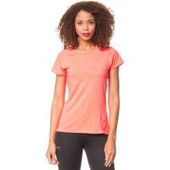 Koszulka w kolorze jaskraworóżowym. Czerwone bluzki sportowe damskie Desigual Sport, s, z nadrukiem. W wyprzedaży za 86,95 zł.