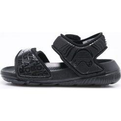 Adidas Performance - Sandały dziecięce Star Wars Alta Swim. Czarne sandały chłopięce marki adidas Performance, z materiału. Za 129,90 zł.