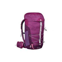 Plecak turystyczny MH100 30 l. Fioletowe plecaki męskie QUECHUA. Za 129,99 zł.