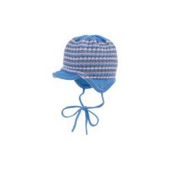 MaxiMo Baby Girls Czapka artikwhite-möve. Niebieskie czapeczki niemowlęce Maximo, z bawełny. Za 59,00 zł.