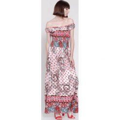 Sukienki hiszpanki: Czerwona Sukienka Special Once