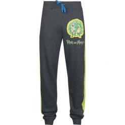 Rick And Morty Portal Spodnie dresowe odcienie szarego. Szare spodnie dresowe męskie Rick And Morty, z dresówki. Za 164,90 zł.