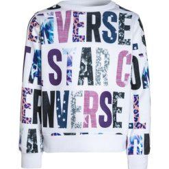 Converse ALL OVER Bluza party. Szare bluzy dziewczęce marki Converse, z materiału. W wyprzedaży za 132,30 zł.