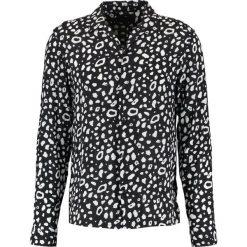 Koszule męskie na spinki: AllSaints PANTHER Koszula black/chalk white