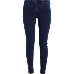 Lee ELLY Jeansy Slim Fit dark blue. Niebieskie jeansy damskie marki Lee, z bawełny. W wyprzedaży za 287,10 zł.