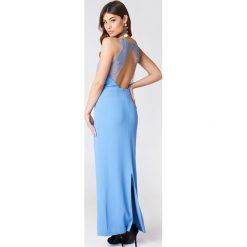 509bcfe213 Samsoe   Samsoe Długa sukienka Willow - Blue. Niebieskie sukienki damskie  Samsøe   Samsøe