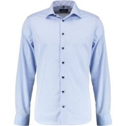 Koszule męskie na spinki: Seidensticker TAILORED KENT PATCH Koszula biznesowa hellblau