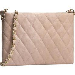 Torebka CREOLE - RBI10119 Pudrowy Róż Pik. Brązowe torebki klasyczne damskie Creole, ze skóry. Za 189,00 zł.