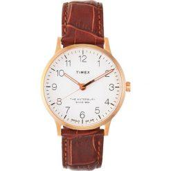 Timex WATERBURY Zegarek brown. Brązowe, analogowe zegarki męskie Timex. Za 459,00 zł.