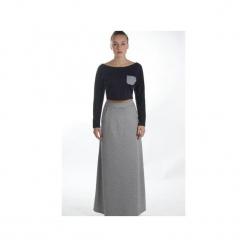 Maxi spódnica popiel melanż. Szare długie spódnice Sylwia snoch, melanż, z bawełny. Za 160,00 zł.