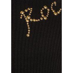 Sukienki dziewczęce dzianinowe: Sisley DRESS Sukienka dzianinowa black