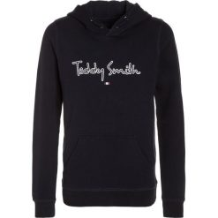 Teddy Smith SEVEN Bluza z kapturem dark navy. Niebieskie bluzy chłopięce rozpinane marki Teddy Smith, z bawełny. Za 169,00 zł.