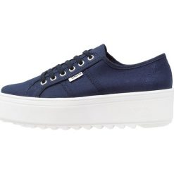 Trampki damskie slip on: Victoria Shoes BASKET LONA PLATAFORMA Tenisówki i Trampki marino