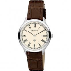 Zegarek kwarcowy w kolorze brązowo-srebrno-beżowym. Brązowe, analogowe zegarki damskie Esprit Watches, ze stali. W wyprzedaży za 227,95 zł.