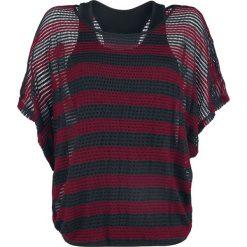 Black Premium by EMP When The Heart Rules The Mind Koszulka damska czerwony/czarmy. Czarne bralety marki Black Premium by EMP, xl, z poliesteru. Za 164,90 zł.
