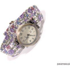 ZEGAREK damski | Kolorowy pasek do zegarka. Szare paski damskie Pakamera, w kolorowe wzory. Za 89,00 zł.