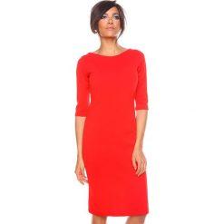 """Sukienki hiszpanki: Sukienka """"Lina"""" w kolorze czerwonym"""
