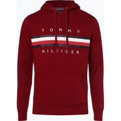 Tommy Hilfiger - Męska bluza nierozpinana, czerwony. Szare bluzy męskie rozpinane marki TOMMY HILFIGER, z bawełny. Za 449,95 zł.