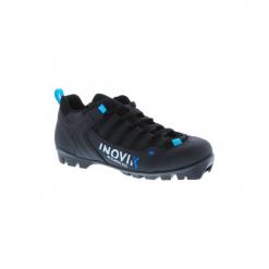 Buty do nartorolek skate XC SR 500 dla dorosłych. Czarne buty do biegania damskie marki Kazar, z nubiku, przed kolano, na wysokim obcasie. Za 349,99 zł.