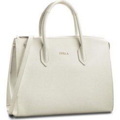 Torebka FURLA - Pin 942262 B BMJ9 B30 Petalo. Białe torebki klasyczne damskie Furla, ze skóry. W wyprzedaży za 1069,00 zł.
