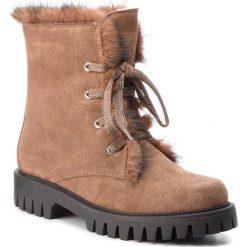 Trapery POLLINI - SA21213H06TG120A W.Ankle Boot. Brązowe buty zimowe damskie Pollini, ze skóry. W wyprzedaży za 1489,00 zł.