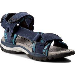 Sandały GEOX - J Borealis B. E J720RE 02215 C4002 D Morski. Niebieskie sandały męskie skórzane marki Geox. W wyprzedaży za 199,00 zł.