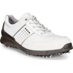 Golfy męskie: ECCO Men's Golf Base One – Biały – 39