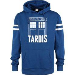 Doctor Who Tardis Bluza z kapturem niebieski. Niebieskie bejsbolówki męskie Doctor Who, m, z kapturem. Za 184,90 zł.