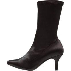 Bianco SOCK BOOT Kozaki black. Czarne buty zimowe damskie marki Bianco, z materiału. W wyprzedaży za 269,10 zł.