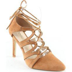 Sandały damskie: Sandały w kolorze karmelowym