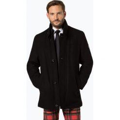 Daniel Hechter - Płaszcz męski, czarny. Brązowe płaszcze wełniane męskie marki Cropp, na zimę, l, sportowe. Za 899,95 zł.