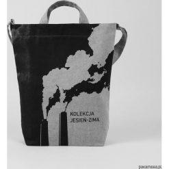 Ekologiczna torba z kolekcji Jesień - zima. Szare torby na ramię męskie Pakamera, na ramię. Za 149,00 zł.