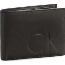 Portfele męskie: Duży Portfel Męski CALVIN KLEIN JEANS – F1nn 10Cc+Coin+Pass K50K502034 Black 001