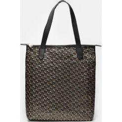 Czarna torebka damska. Czarne torebki klasyczne damskie Kazar, ze skóry, duże. Za 949,00 zł.