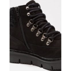 Botki damskie lity: Bianco CLEATED WARM BOOT Ankle boot black