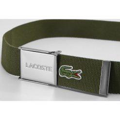 Paski damskie: Lacoste BELT Pasek green