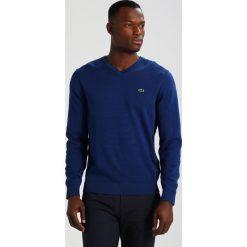 Swetry klasyczne męskie: Lacoste Sweter marino medium blau