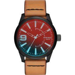 Zegarek DIESEL - Rasp Nsbb DZ1860 Gunmetal/Gunmetal. Brązowe zegarki męskie Diesel. Za 679,00 zł.
