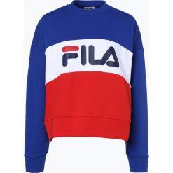 Bluzy damskie: FILA - Damska bluza nierozpinana, niebieski