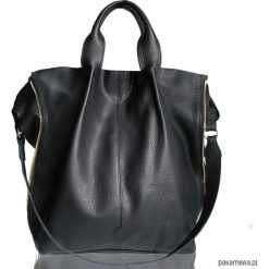 Torebki klasyczne damskie: GALAXY ZIPPER BAG Black