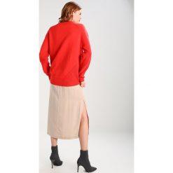 Swetry klasyczne damskie: YAS YASPEONY  Sweter orange