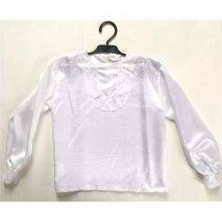 Koszula z Atłasu 134 - kostiumy dla dzieci. Białe koszule chłopięce marki FOUGANZA, z bawełny. Za 45,22 zł.