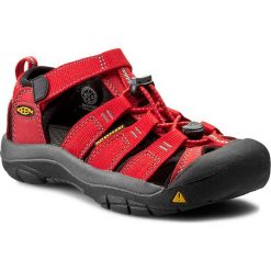 Sandały KEEN - Newport H2 1012318 Ribbon Red/Gargoyle. Czerwone sandały chłopięce Keen, z gumy. W wyprzedaży za 179,00 zł.