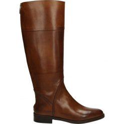 Kozaki - 2069 NAT CUOI. Czarne buty zimowe damskie marki Venezia, z materiału, na obcasie. Za 399,00 zł.