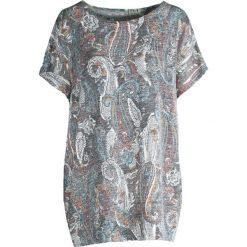 T-shirty damskie: Niebieski T-shirt Dark Bloom